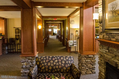 Heritage Monona Senior Living Campus - View down to Eastern Lobby